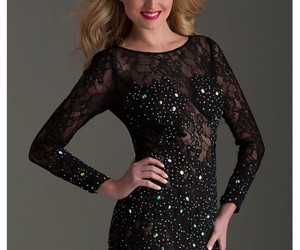 cocktail dress, prom dress, and sparkle image