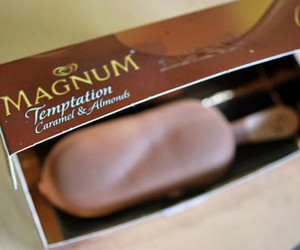 Magnum, ice cream, and chocolate image