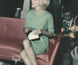 Marilyn Monroe, blonde, and dress image