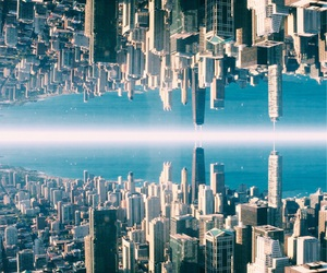 chicago, city, and sky image