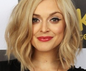 blonde, bob, and dyed image