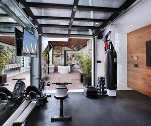 exercise, home, and life image