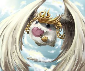 league of legends and poro image