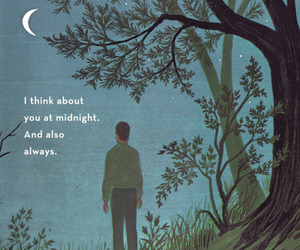 quotes, moon, and art image