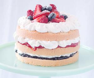 cake, sweet, and cute image