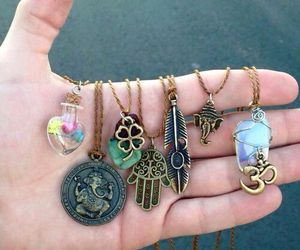 necklace, accessories, and grunge image