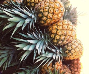healthy, pineapple, and yummy image