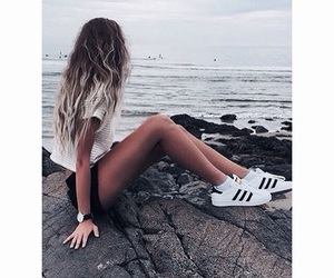 adidas, colours, and girl image