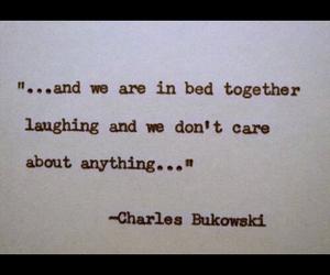 books, charles bukowski, and quates image