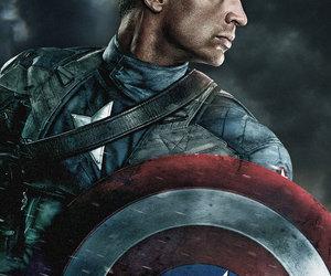 captain america, chris evans, and hero image