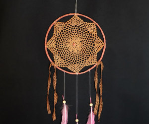 dream catcher, wall decor, and wall hanging image
