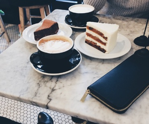 coffee, cake, and food image