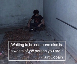 kurt cobain, quotes, and grunge image