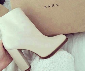 Zara, shoes, and white image