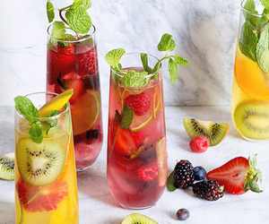 Cocktails, drink, and fruit image