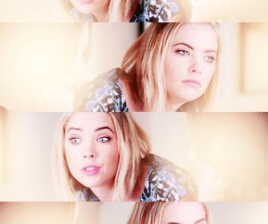 pretty little liars, haleb, and ashley benson image