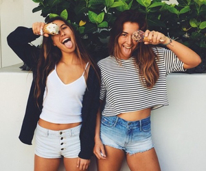 fashion, friends, and best friends image