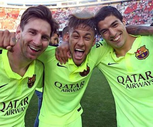 messi, suarez, and neymar image