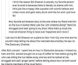 funny, tumblr, and ed sheeran image