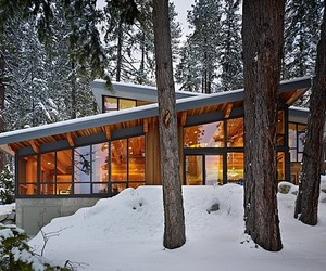 architecture, snow, and winter image