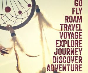 adventure, explore, and travel image
