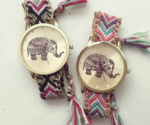 elephant and watch image