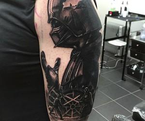 darth vader, epic, and ink image