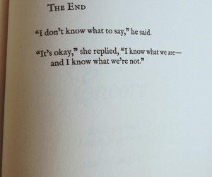 book, Lang Leav, and the end image