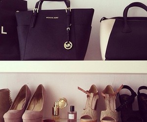 bag, shoes, and fashion image