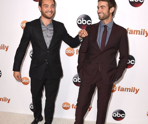 Chace Crawford, ed westwick, and goals image