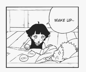 anime, b&w, and naruto image