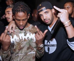 Drake and travis scott image