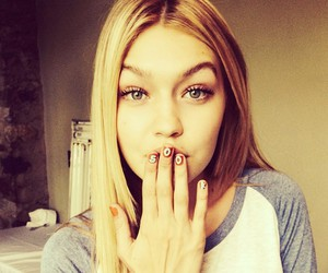 gigi hadid, model, and nails image