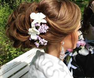 fashion, flower, and highlights image