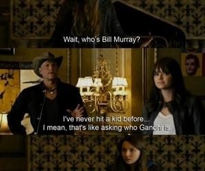 zombieland, bill murray, and abigail breslin image