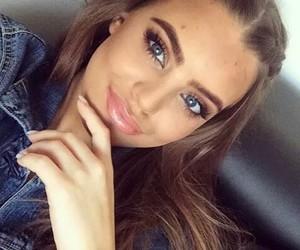 beautiful, eyes, and girl image