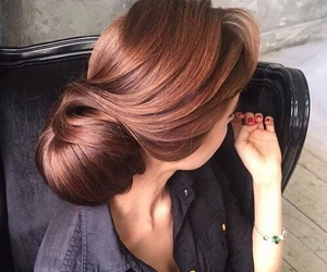 blond, brunette, and fashion image