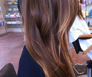 fashion, highlights, and ombre image