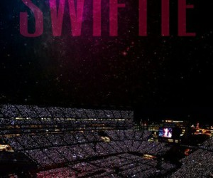 Taylor Swift and concert image