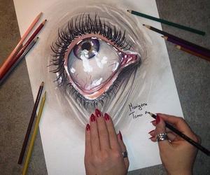 art, nice, and pencil image