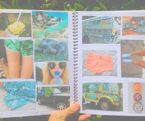 girl, tropical, and art image