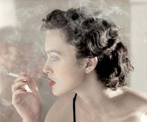 keira knightley, smoke, and atonement image
