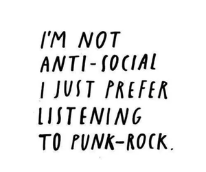 music, quote, and punk image