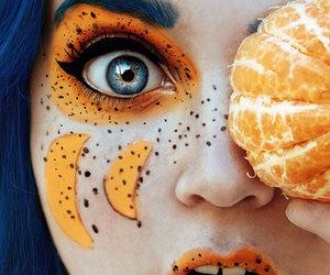 orange, fruit, and art image