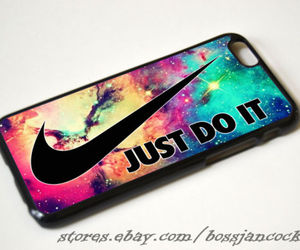 iphone case, nike just do it, and iphone 4 case image
