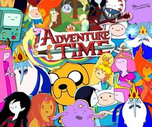adventure time and Collage image