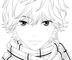 anime, black&white, and manga image