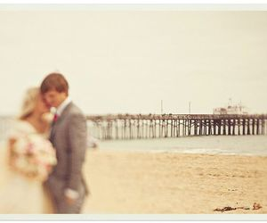 beach, boy, and bride image