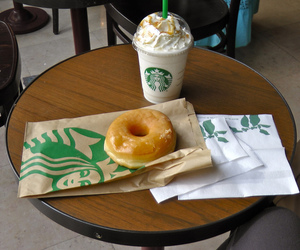 donuts and starbucks image