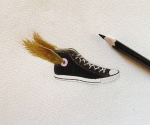 all star, art, and converse image